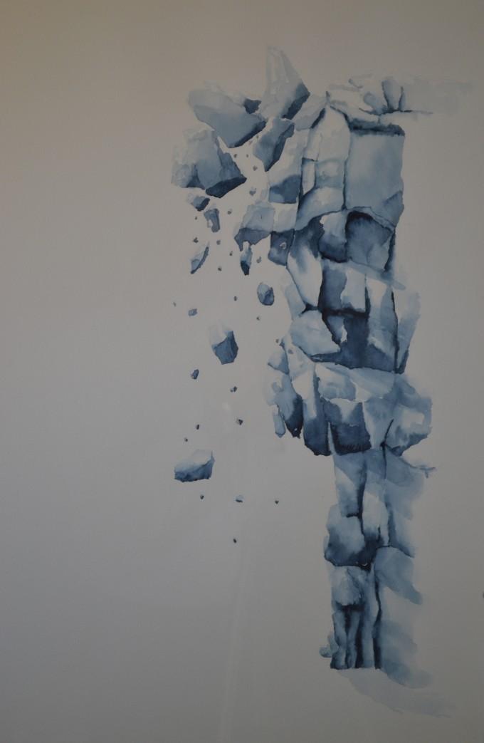 Vallende rotsen